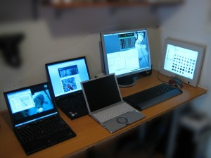 photo of computers