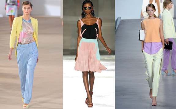 Trends Spring/Summer 2012: Pastel Colors Rule The Runways