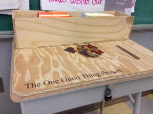 One Good Thing Project returns to CLP Hazelwood soon!