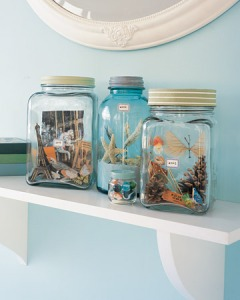 Martha Stewart Vacation Memory Jars