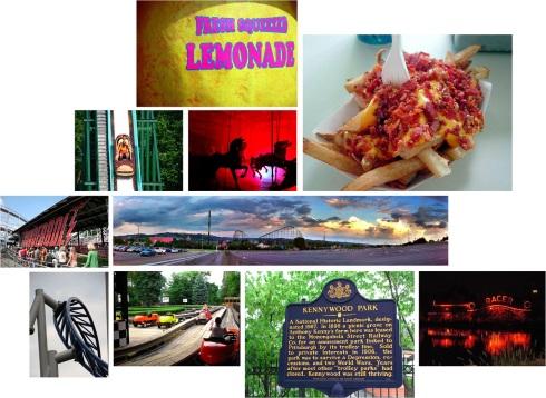 http://www.flickr.com/photos/stevensnodgrass/ kennywood sign http://www.flickr.com/photos/ambergris/ goodbye tunnel http://www.flickr.com/photos/dcwriterdawn/ Racer http://www.flickr.com/photos/bettytsang/ Thunderbolt http://www.flickr.com/photos/jab2980/ Carousel http://www.flickr.com/photos/neuski/ potato patch fries http://www.flickr.com/photos/lanbui/ landscape http://www.flickr.com/photos/rollercoasterphilosophy/ Fresh Sqeezed lemonade, auto race,Historical landmark sign and sky rocket