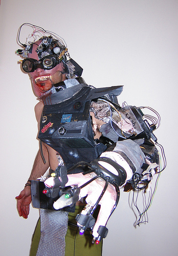 mutant cyborg costume by don pezzano on flickr